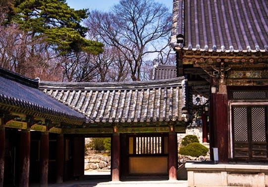 Bulguksa Temple, Geukrakjeon.© Mikyoung Cha