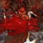 04. Goat slaughtered to appease the Goddess. © Joo Peter
