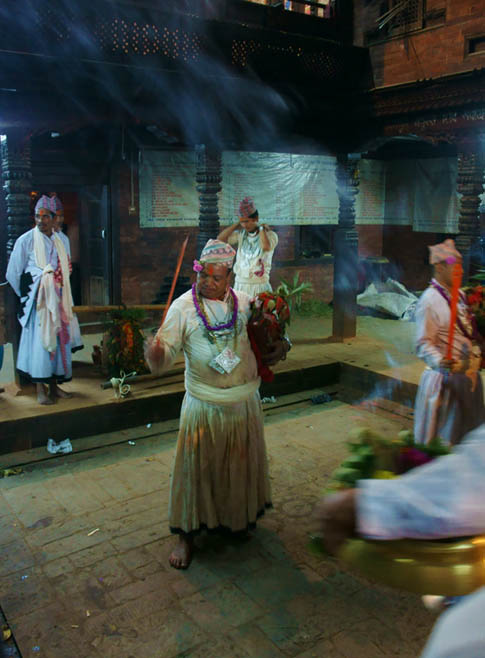 10. Trance dance with swords by priests at  the Navadurga temple. © Joo Peter