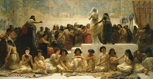 Babylonian marriage market, Edwin Long (1875)
