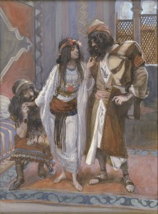 Rahab, The Harlot of Jericho by James Tissot