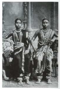 Devadasi at Tanjore, 1920s