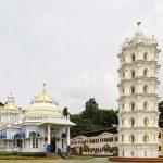 Shri Mangeshi Devasthan. Photograph www.trawell.in