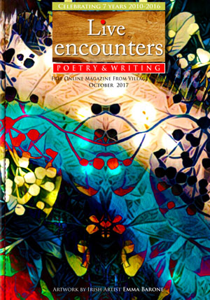 Live Encounters Poetry & Writing October 2017 s