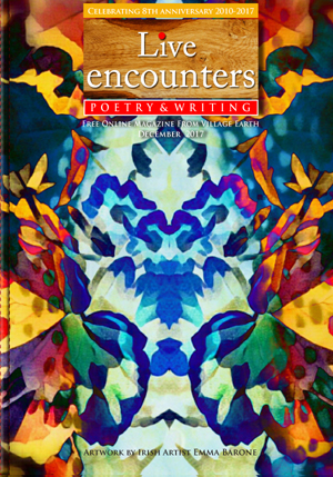 Live Encounters Poetry & Writing 8th Anniversary December 2017 s