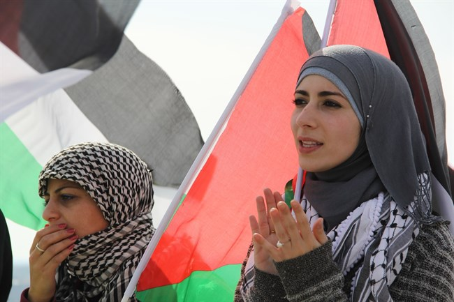 Palestinians protesting https www.maannews.comContent.aspxid771737