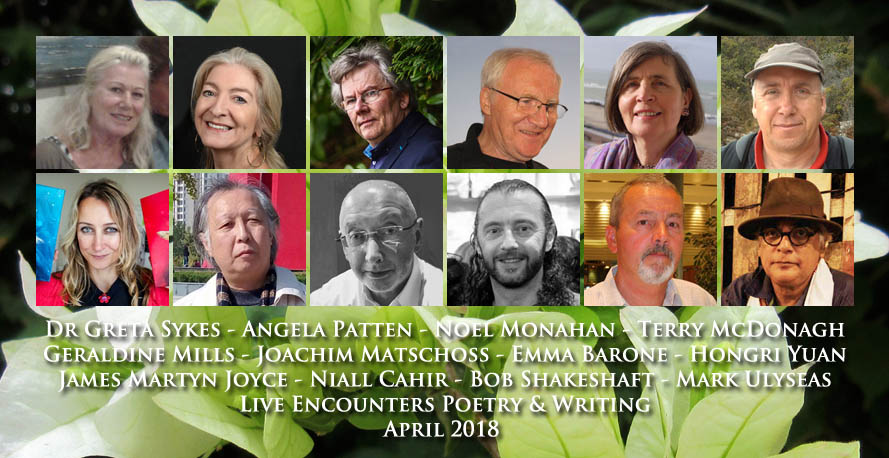 Live Encounters Poetry & Writing April 2018