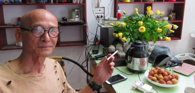 Profile Nguyen Van Ho LE Poetry & Writing July 2018