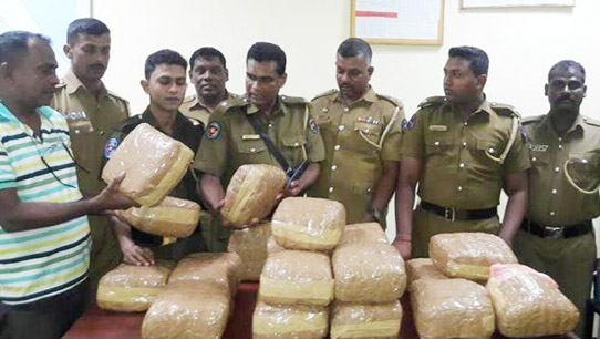Drug Seizure in Sri Lanka, November 2016 Source India Today