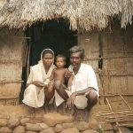 Photograph by Randhir Khare of a resettled family.
