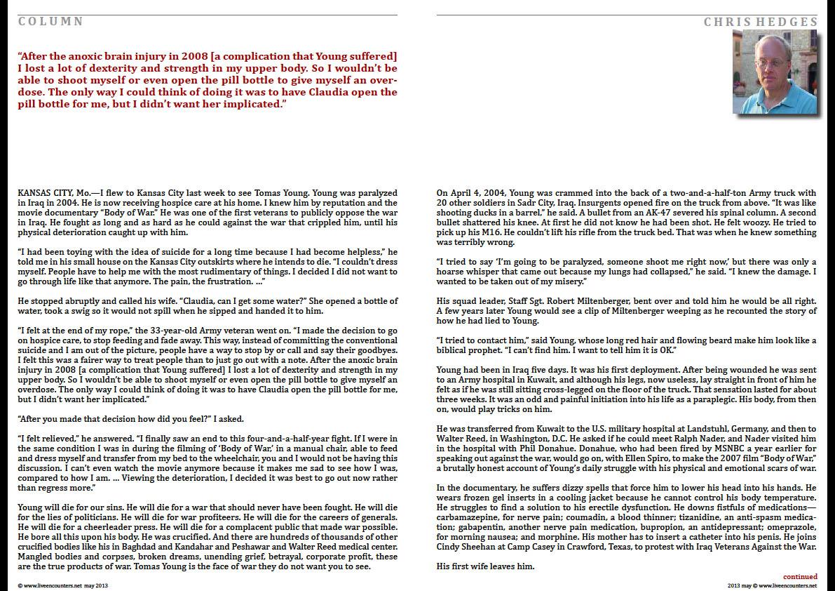 02 Chris Hedges LE Mag April 2013
