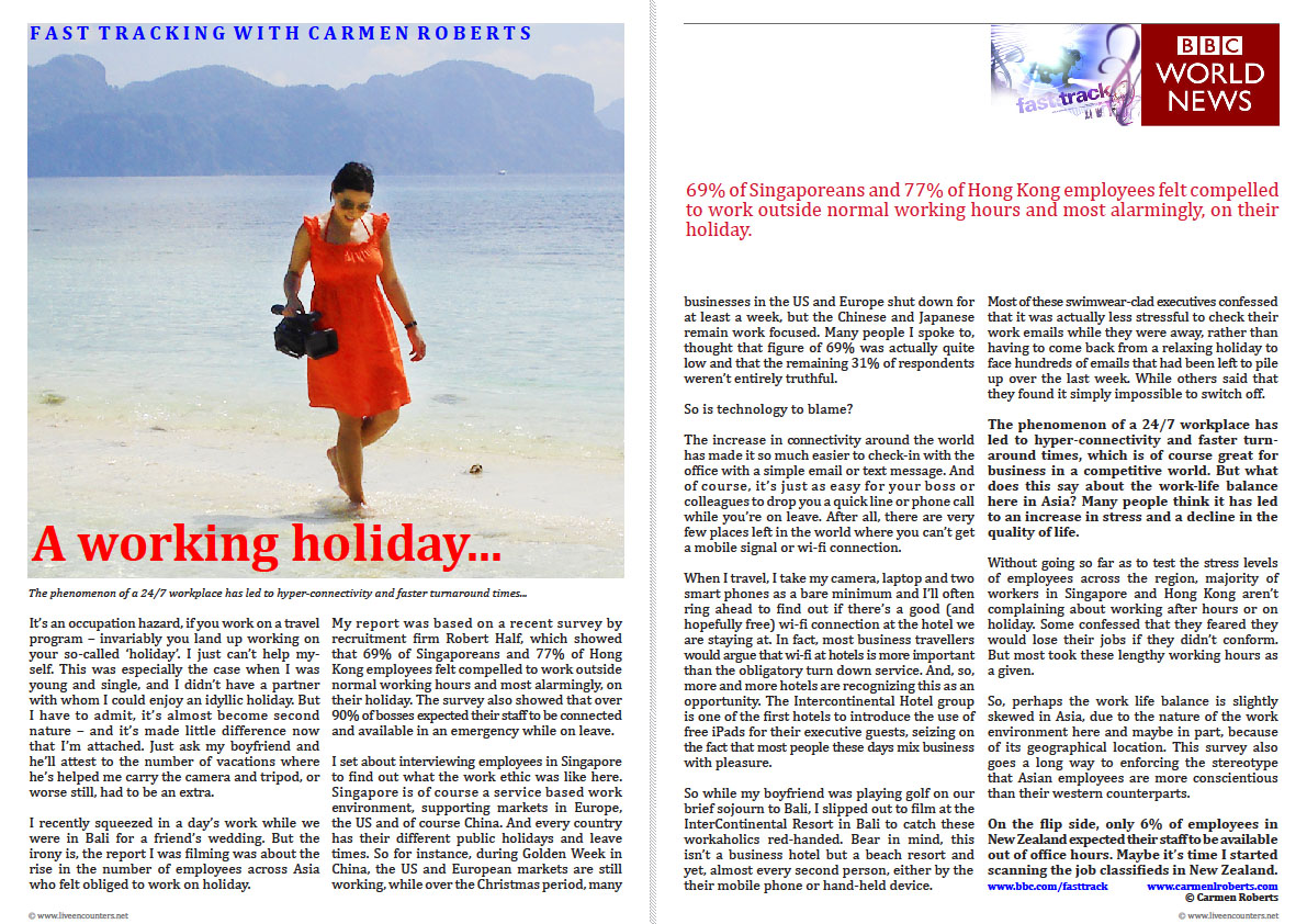 Carmne Roberts LE Mag September 2011