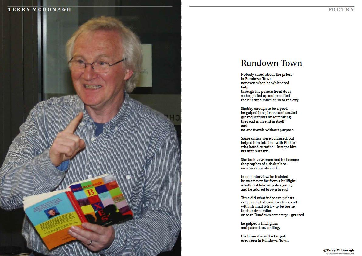 Terry McDonagh LE Mag February 2012