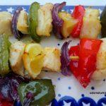 Fish Kebabs with lemon