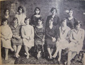 "The board of directors of ""Jam'iat e nesvan e vatan-khah"", a women's rights association in Tehran (1923-1933)"