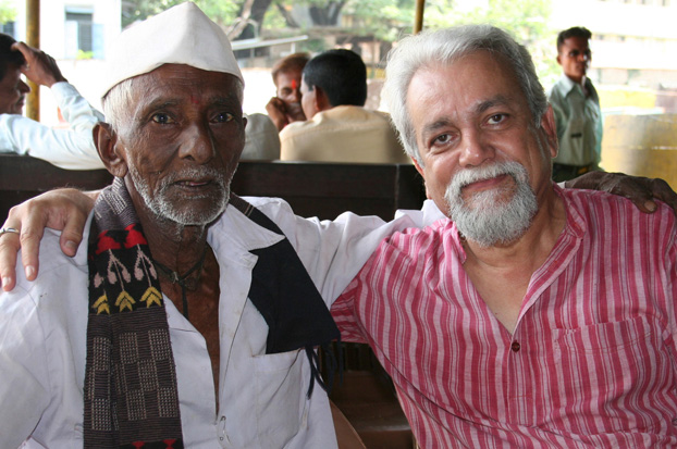The author's last meeting with Janu Kaka.