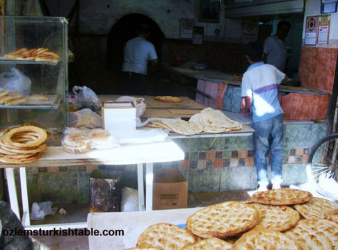 Firin bakery in Long Market Uzun Carsi fond memories of getting our daily bread from there.