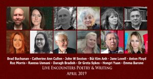 LE Poetry & Writing April 2019