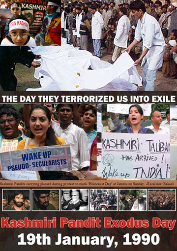 Religious cleansing massacre of Kashmiri Hindus