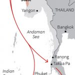Trafficking routes of Rohingya refugees, Source: Thomson Reuters