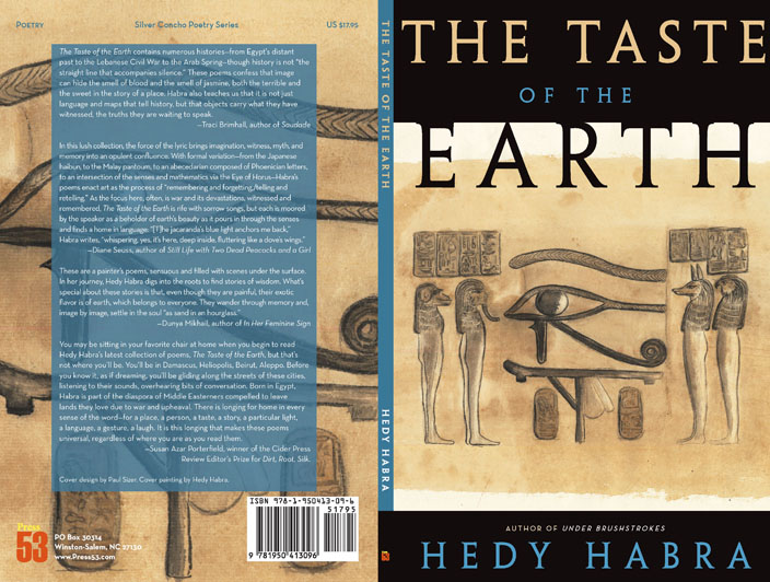 The Taste of the Earth by Hedy Habra cover