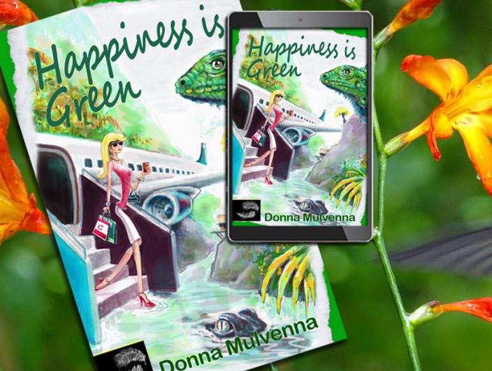 Happiness is Green by Donna Mulvenna