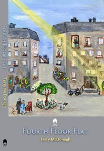 Book cover fourth floor flat by Terry McDonagh