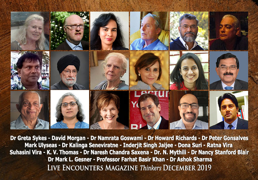 Live Encounters Magazine Thinkers December 2019