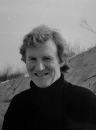 Terry as a young poet in the 1970s