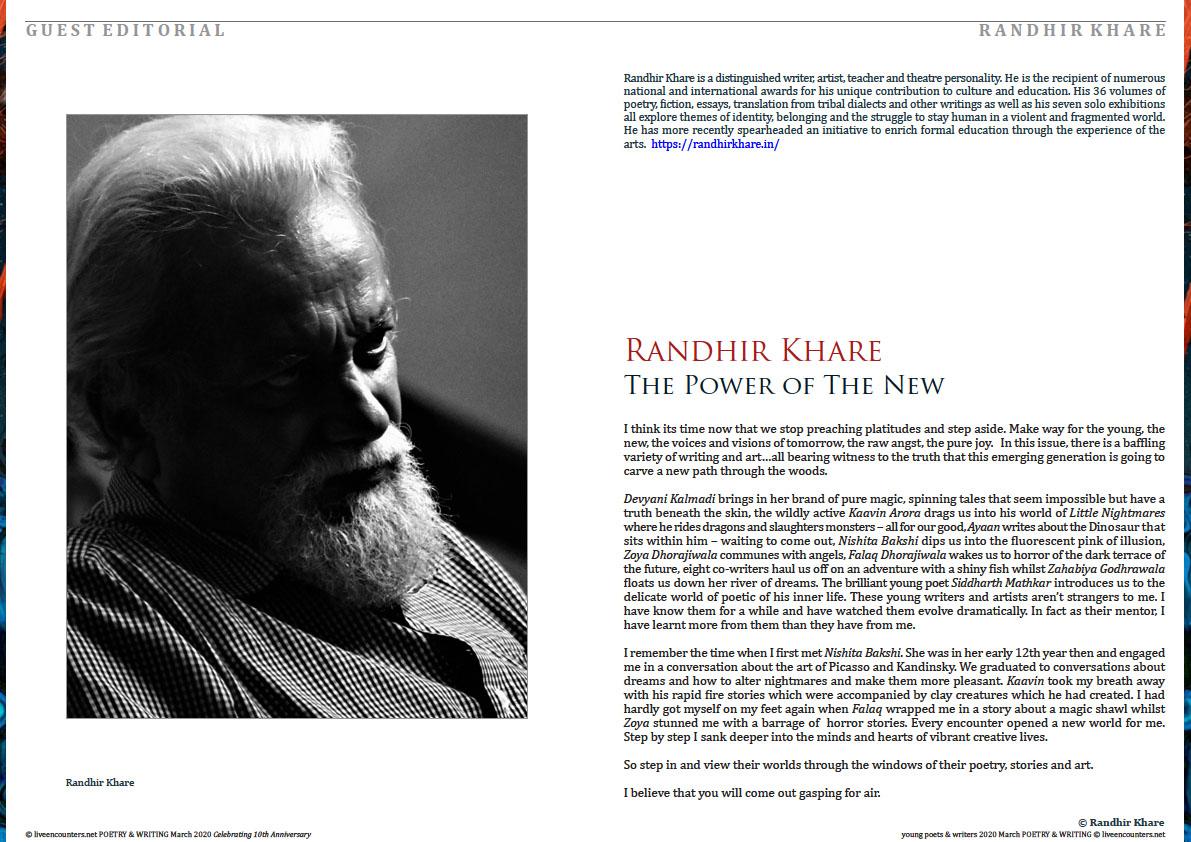1 Randhir Khare Editorial YLEP&W March 2020