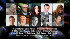 Live Encounters Magazine April 2020 banner