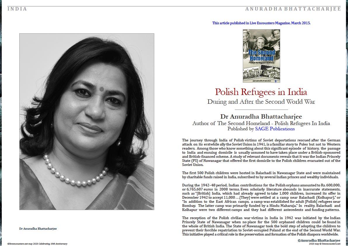 1 Dr Anuradha Bhattacharjee May 2020