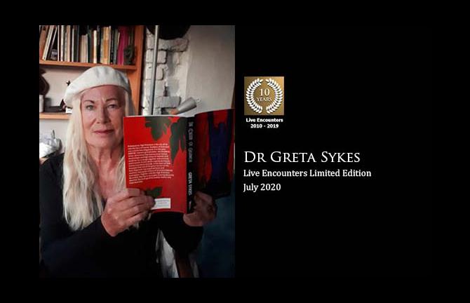 Profile Dr Greta Sykes