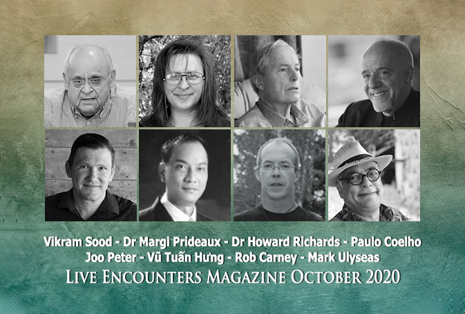 Live Encounters Magazine October 2020 banner