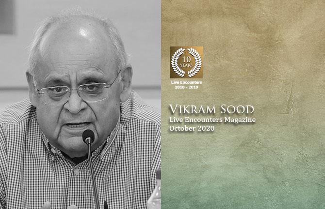 Vikram Sood LE Oct 2020