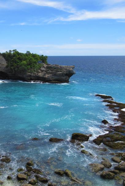 Ceningan island, photograph by Mark Ulyseas