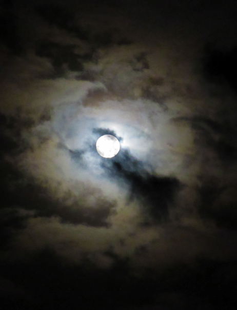 Full Moon photograph by Mark Ulyseas