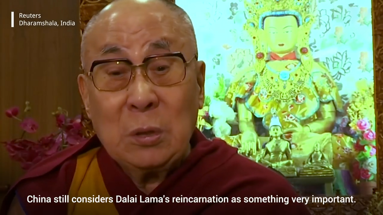 His Holiness The Dalai Lama, youtube screenshot.