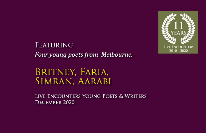Young Poets from Melbourne
