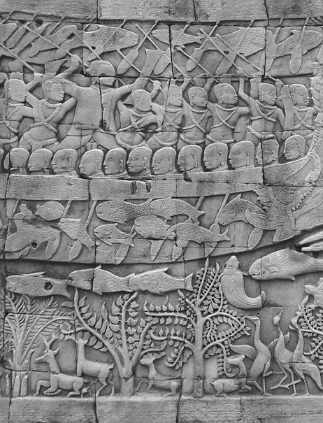 Bayon Temple Angkor photograph by Mark Ulyseas