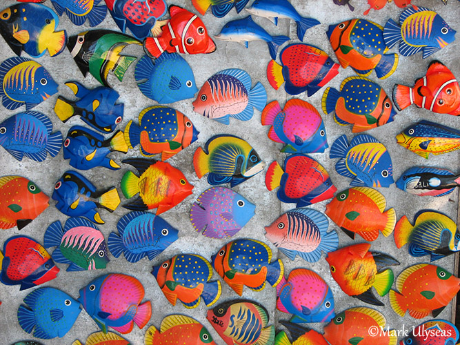 Fish fridge magnets photograph Mark Ulyseas