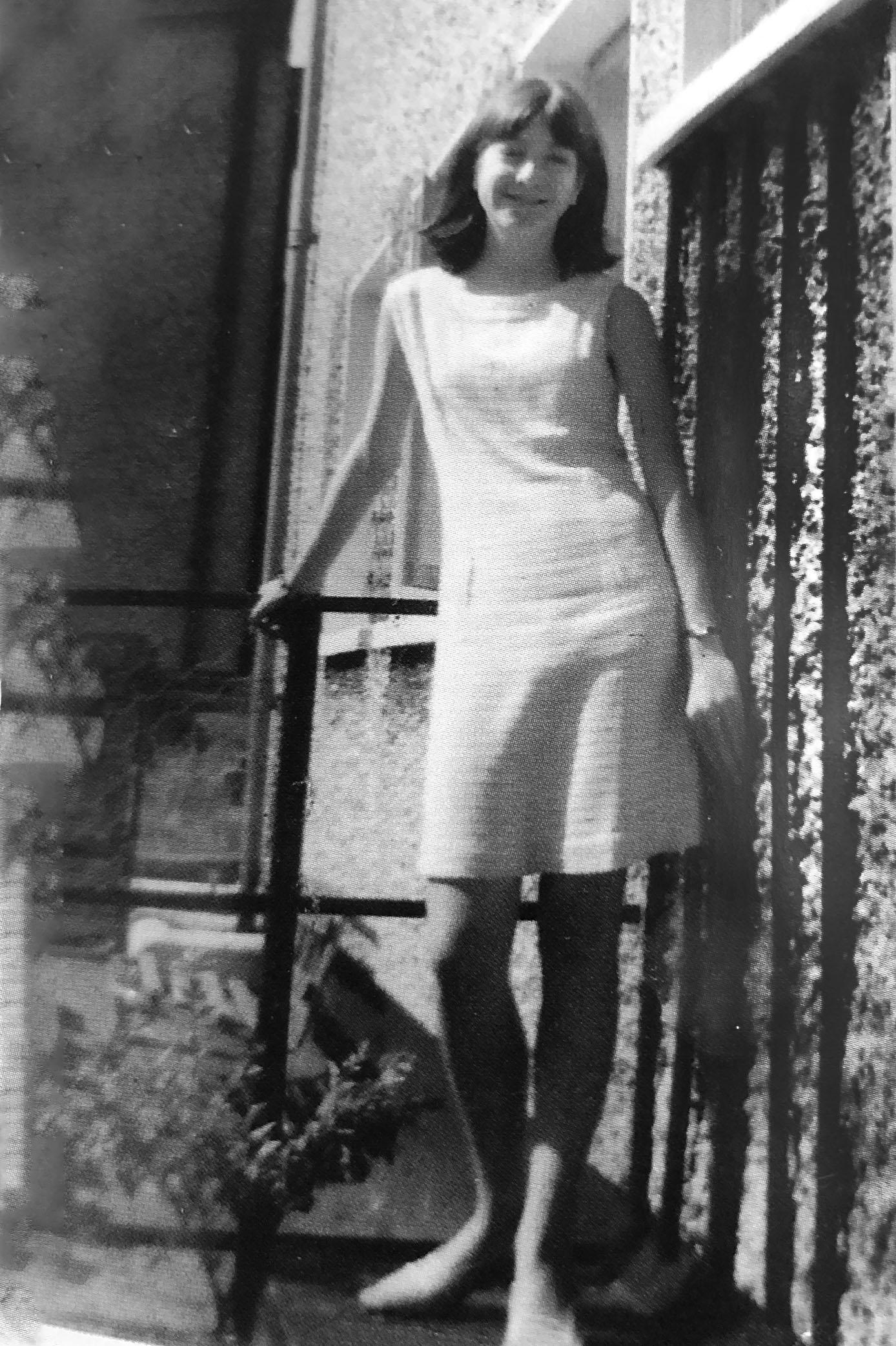 Angela, 15 years old, Dublin 1967.