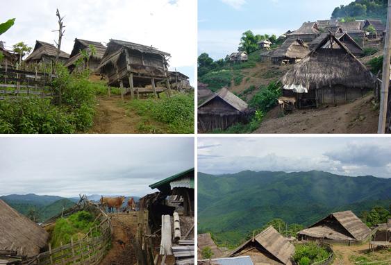 Ban Jakhampa - Akha Village photograph by Percy Aaron